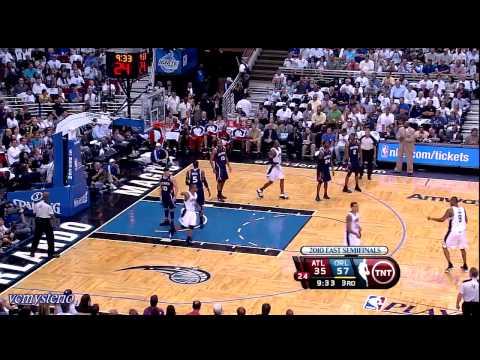 Orlando Magic All Field Goals Highlights vs Atlanta Hawks - 2010 Playoffs Game 1