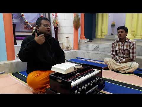 Evening classes in the ashram (08-12-2017)