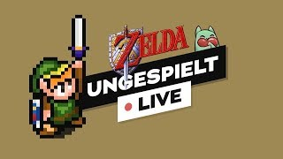 ZELDA - A Link to the Past - durchzocken! #ungespielt