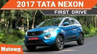 2017 Tata Nexon First Drive