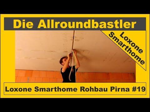 Loxone Smarthome - Rohbau in Pirna #19 - Garage Rohinstallation