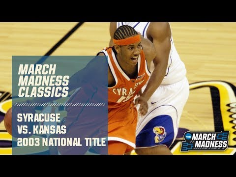 Syracuse Vs. Kansas: 2003 National Championship | FULL GAME