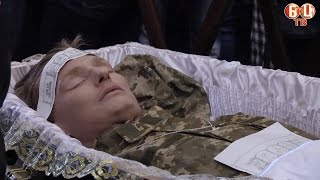 Прощання із загиблим воїном 72-ї бригади Макаровим Владиславом