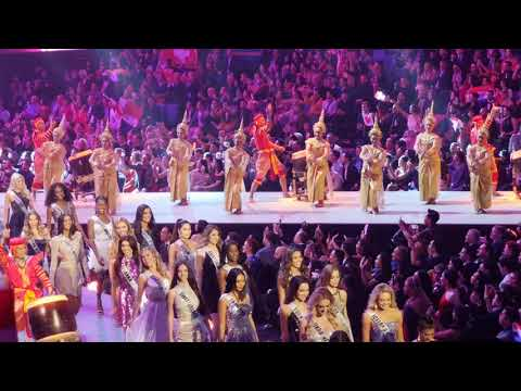 Miss universe 2018 opening show.