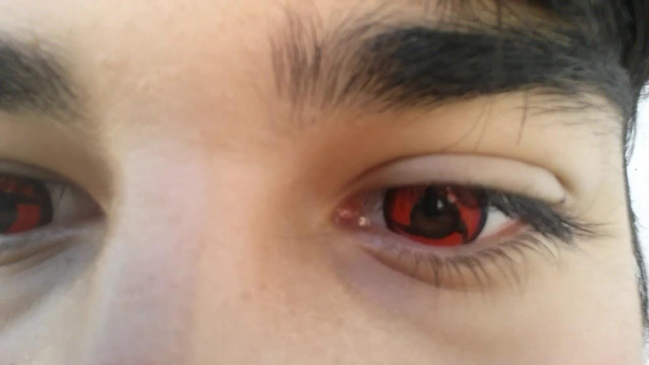 mangekyou sharingan itachi  pupilentes de itachi uchiha