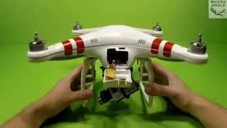 Установка Zenmuse H3-3D на Phantom 1