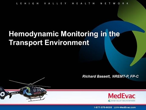Hemodynamic Monitoring in the Transport Environment