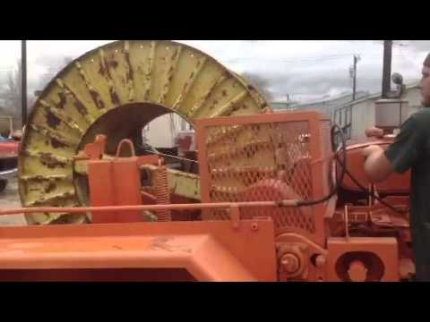 Custom Made Solutions Cable Drum Trailer Demonstration