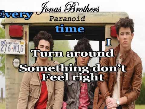 Paranoid (Karaoke/Instrumental) Jonas Brothers +(Download Link)