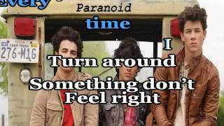 Paranoid (Karaoke/Instrumental) Jonas Brothers +(Download Link)