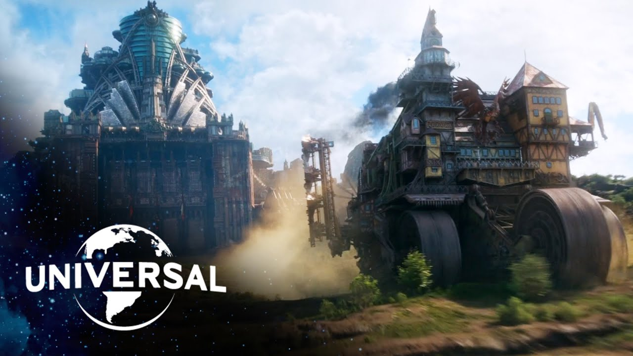 Download Mortal Engines | The City of London Devours Bavaria for Fuel