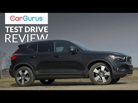 2019 Volvo Xc40 Cargurus Test Drive Review Youtube