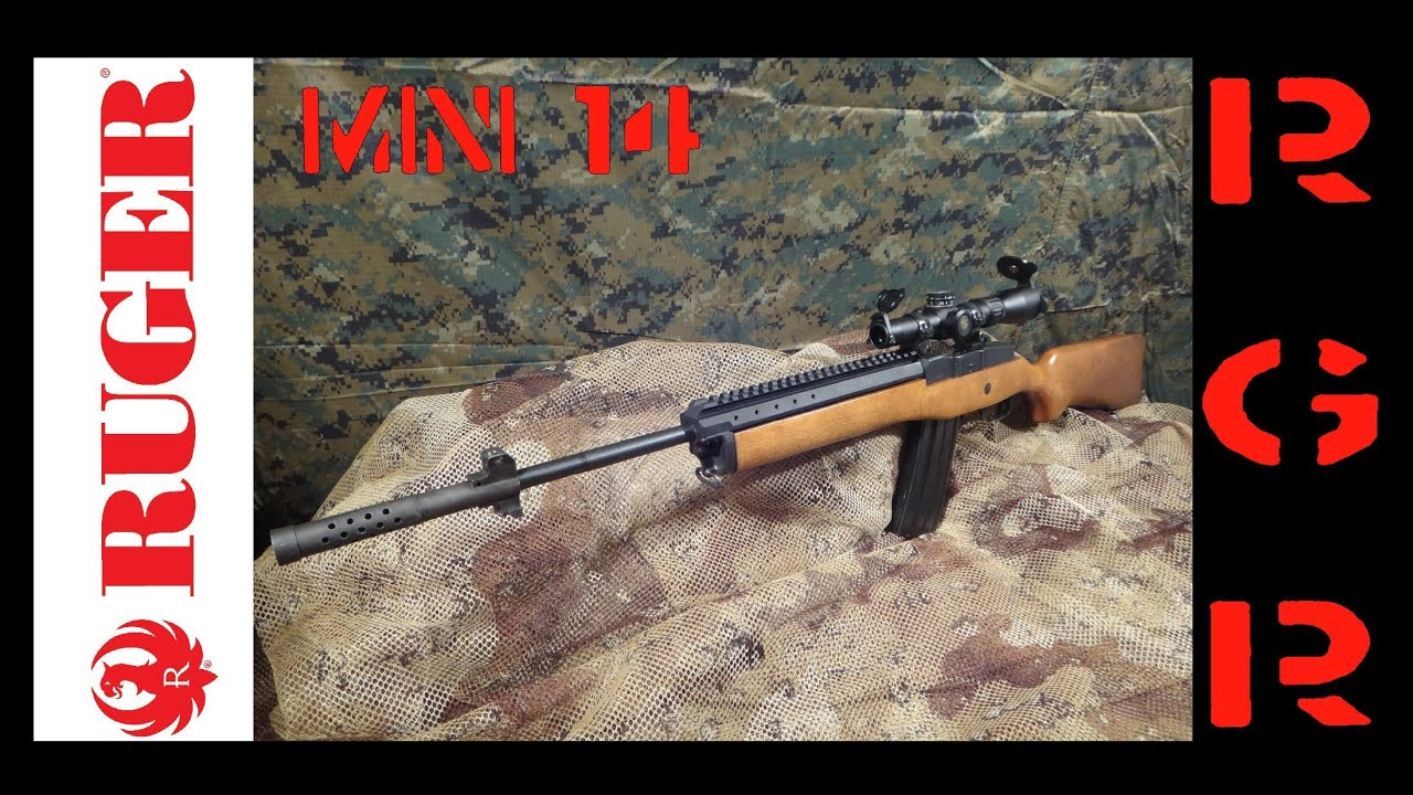 Ruger Mini 14 with Original Factory Folding Stock