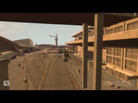 GTA IV BIKE STUNTS & CRASH GTA 5 BIKE STUNT & CRASH
