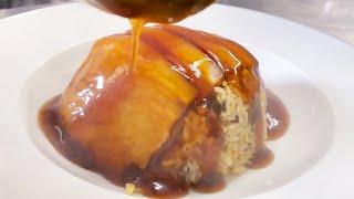 焼豚炒飯 Fried rice with Roast Pork【飯テロ】