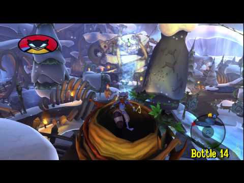 Sly Cooper Thieves in Time: Episode 3 - Gungathal Valley - All 30 Bottles - HTG
