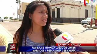 Familia intoxicada reafirma denuncia contra cevichería en La Punta