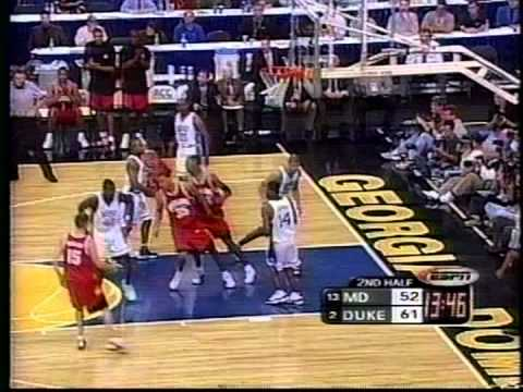 03/10/2001 ACC Semifinal #2:  #13 Maryland Terrapins vs.  #2 Duke Blue Devils