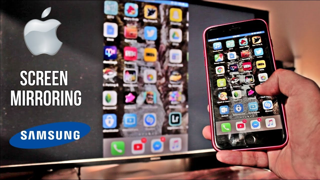 screen mirroring iphone screen mirroring iphone to samsung tv wirelessly 2018 1588