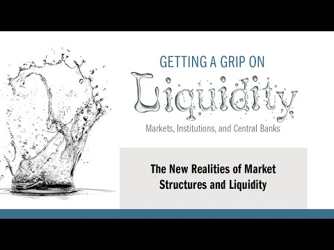2016 FMC/Policy Session 3:  The new realities of market structures and liquidity