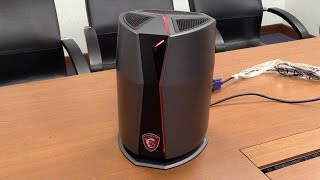 MSI Vortex high-end gaming-pc in a very small case