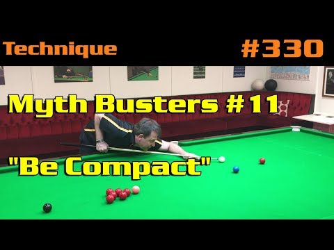 """Myth Busters #11: """"Be Compact"""""""