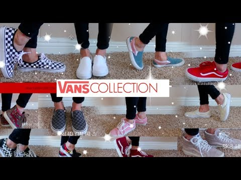 VANS COLLECTION 2018 / TRY ON