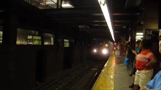 R68 D trains terminating at 34th Street - Herald Square