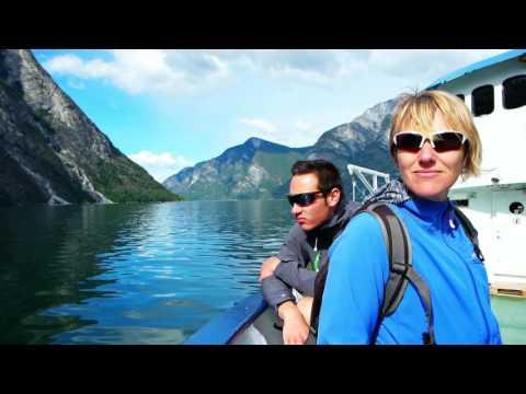 Naeroyfjord From Flam To Gudvangen Norway