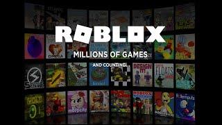 playing some random games - Roblox