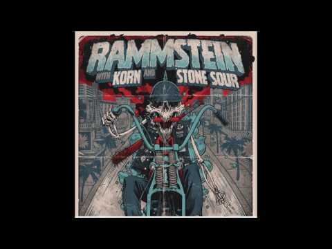 Rammstein, Korn and Stone Sour to play huge show in Las Vegas! July 1st T-Mobile Arena....