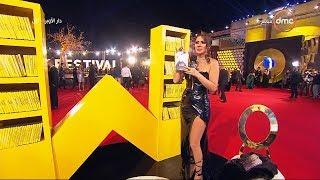 مهرجان القاهرة السينمائي - لقاء مع النجمة نجلاء بدر وتختار فيلم