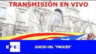 JUICIO CONTRA EL GOLPE DE ESTADO DEL 1-0 (declaraciones de los Jordis) DIRECTO