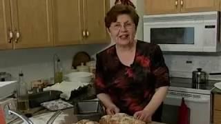 Jana Branova - Macedonian cuisine - Veligdensko Lebche - Велигденско Лебче