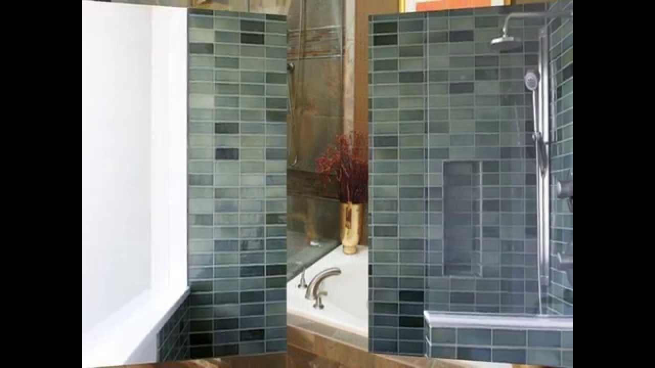 Shower Tile Design Ideas - YouTube