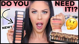 URBAN DECAY NAKED RELOADED PALETTE!!? DO YOU NEED IT?? SWATCHES, COMPARISON + REVIEW!!