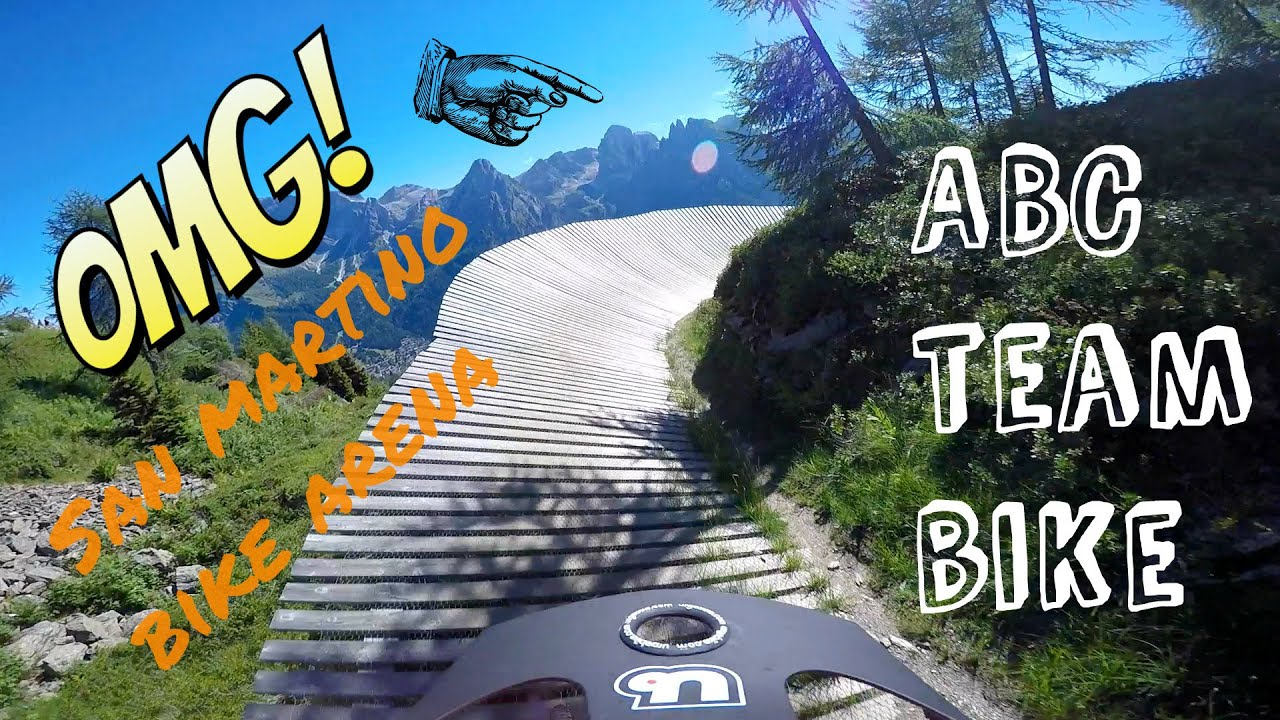 Abc team bike - san martino bike arena (tn) dh1 dh2 07/08/2016 gopro hero 4 downhill