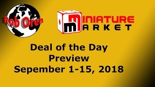 Miniature Market Deals of The Day  September 1-16, 2018
