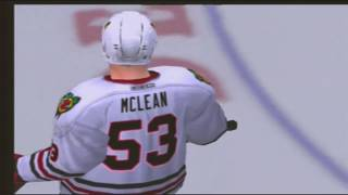 NHL 2005 Simulated The Lost Season Playoff Game 1 Blackhawks vs Red Wings