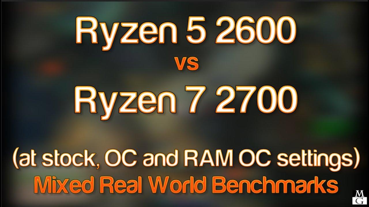 Ryzen 5 2600 vs Ryzen 7 2700 Comparison - Premiere, Encoder, Cubase - Does  32GB of RAM matter?