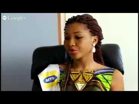 Yéo Jennifer, miss Côte d'Ivoire 2014, en direct sur Abidjan.net TV