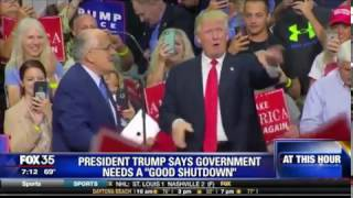 """President Trump wants a """"Good Shutdown"""" for Government"""