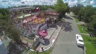 The Orange Show Houston  - Smither Park - Drone
