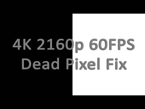 4K 2160p 60FPS Dead/Stuck/Defective Pixel Fix (1 hour BW flashes)