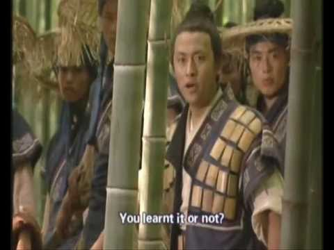 Laughing in the Wind (2001)...Bamboo Forest Fight....wmv
