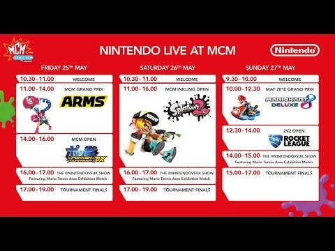 Nintendo at MCM London Comic Con - Day 2