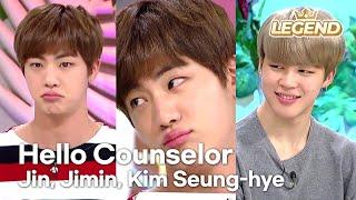 Video Hello Counselor - Jin, Jimin, Kim Seunghye [ENG/THA/2017.03.20] download MP3, 3GP, MP4, WEBM, AVI, FLV Agustus 2018