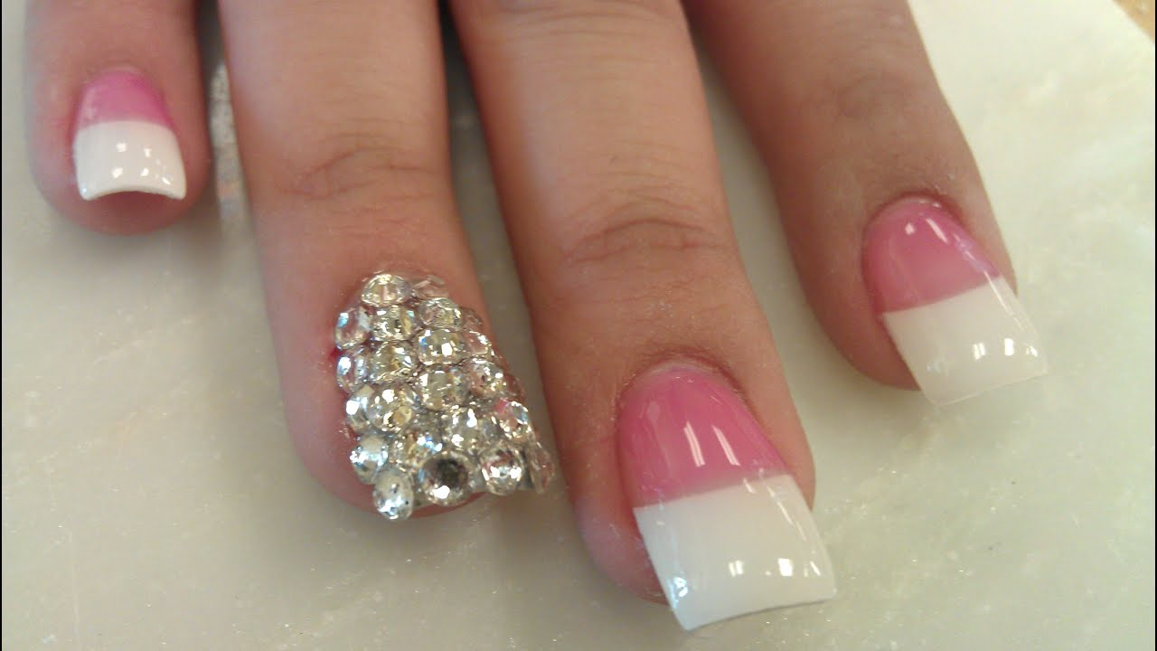 Cute White French Tip Nail Designs