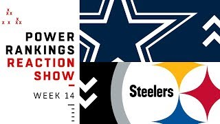 NFL Power Rankings Week 14 Reaction Show: Saints Still #1? | NFL