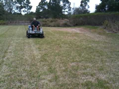 Dixie Chopper cuts very fast